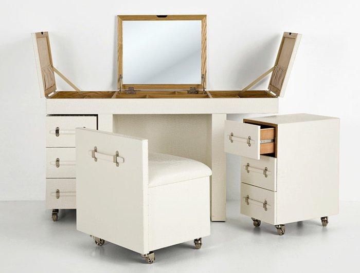 Функциональный туалетный столик с оригинальным дизайном
