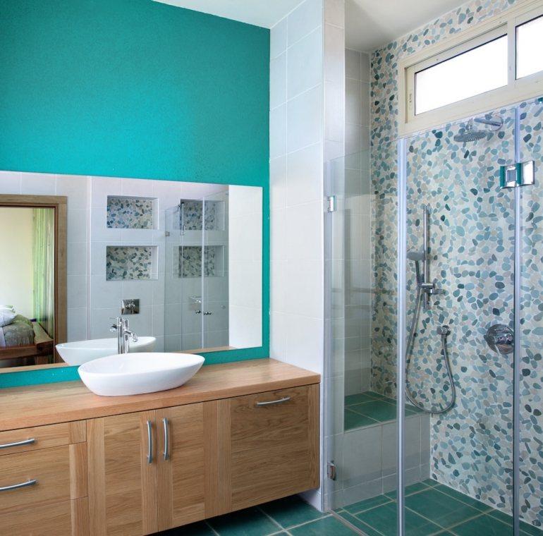 badezimmer weiß türkis: bilder spiegel, oben, weiß, sockel, Hause ideen