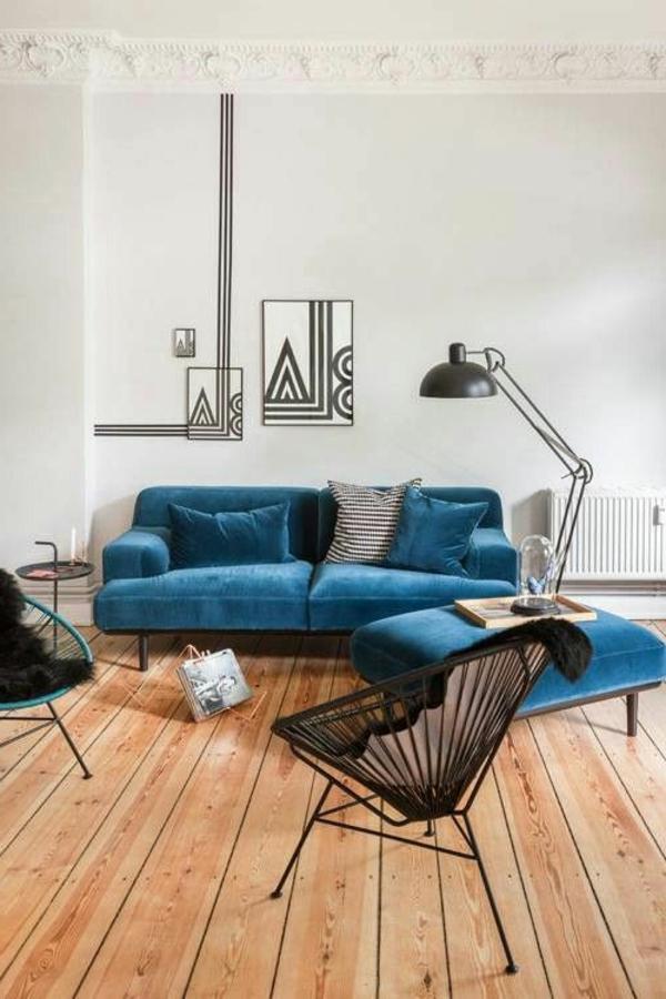 blaue-farbtöne-akzent-deko-sofa6