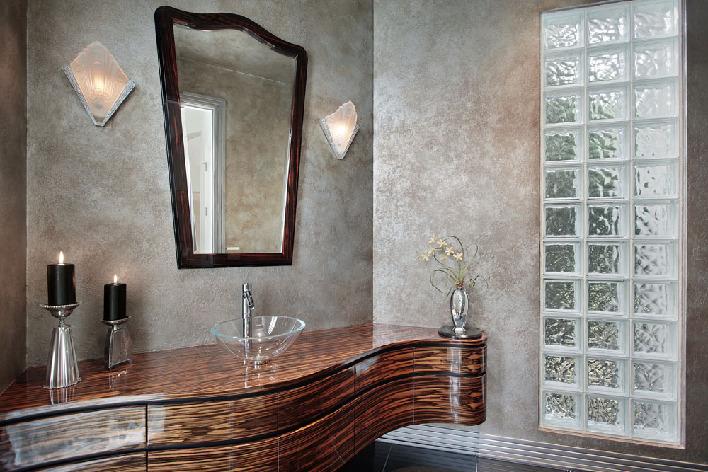 Роскошная мужская ванная
