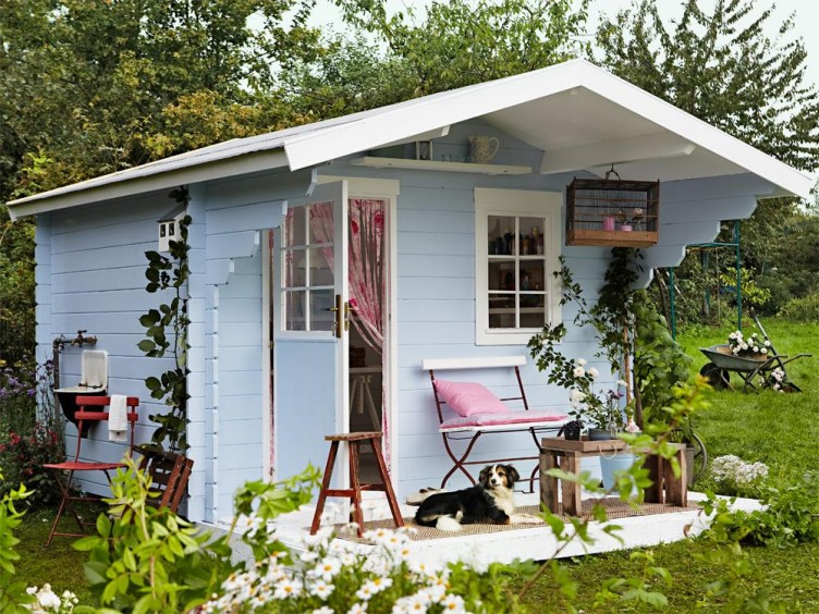 Интерьер садового домика