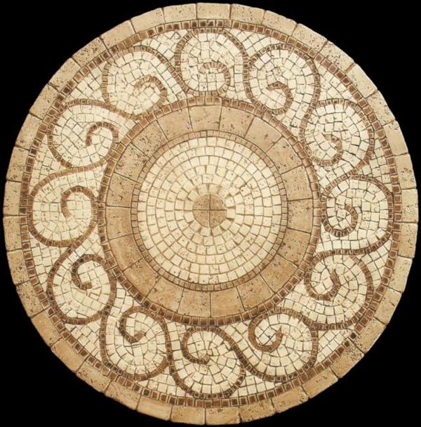 schöner-mosaik-tisch-beige-und-schön-aussehen