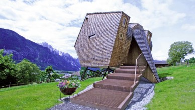Необычные интересные дома