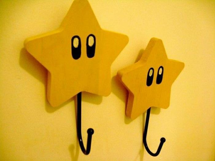 Крючки для одежды в форме звезд