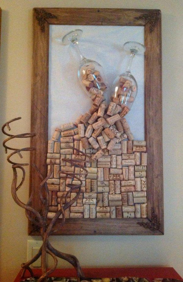 Поделки из пробок от вина своими руками пошаговая инструкция