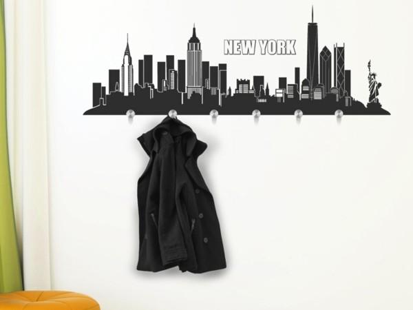 Наклейка на стену Нью-Йорк