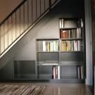 Оформление под лестницей