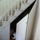 Лестница со шкафом