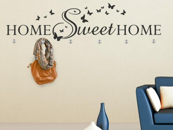 Наклейка на стену Home sweet home