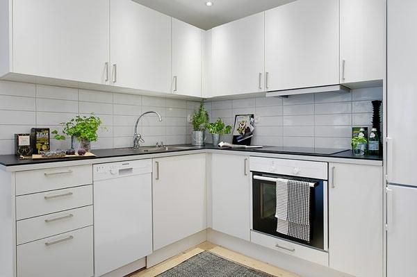 Плитка в кухне интерьер