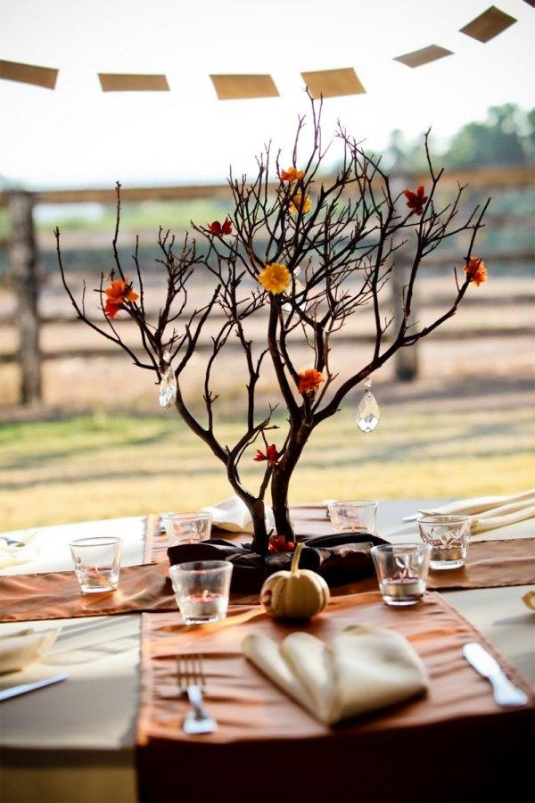 Декор из веток дерева своими руками фото 17