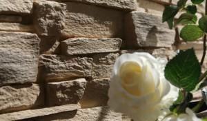 Песочный декоративный камень