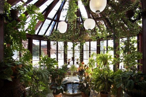 Зимние сады и оранжереи