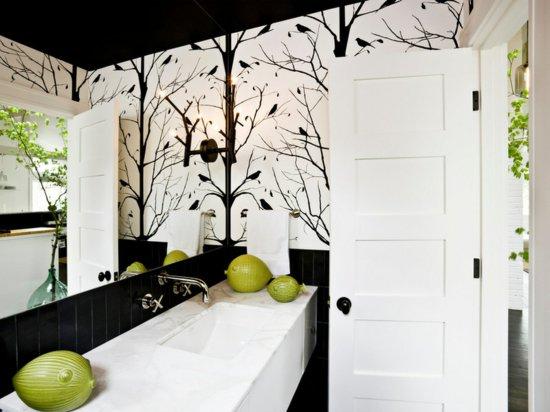 Фото черного потолка в ванной
