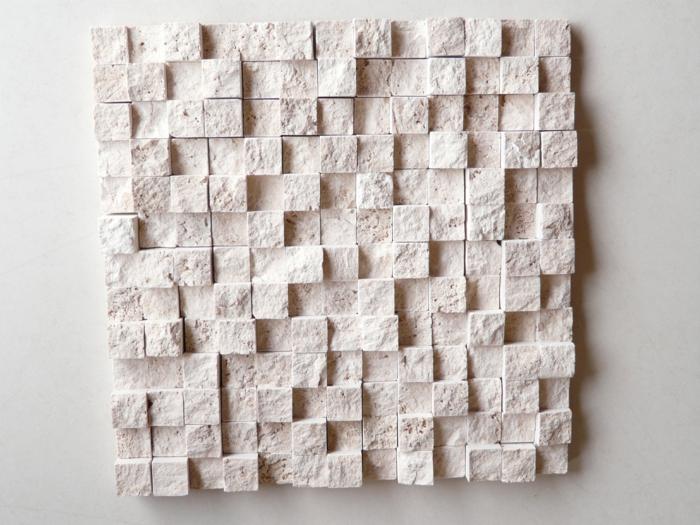 Мозаика из облицовочной фасадной плитки под камень