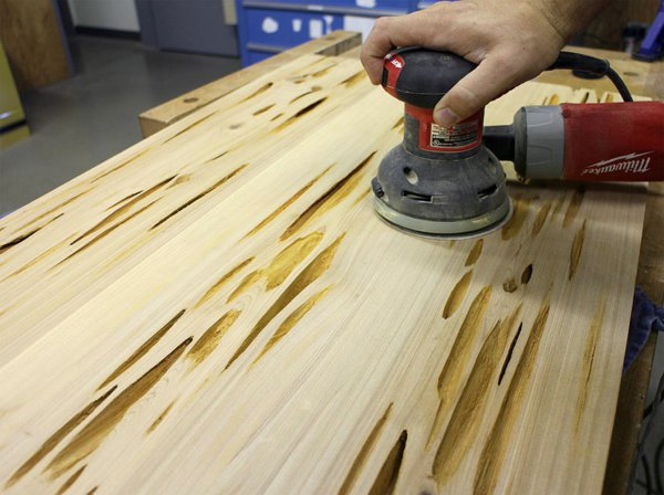 Изготовление деревянного стола