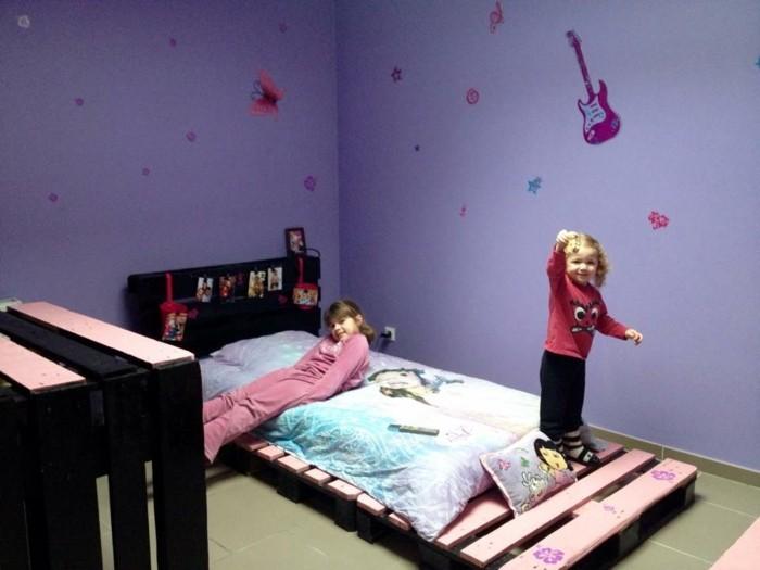Кровать для девочки своими руками