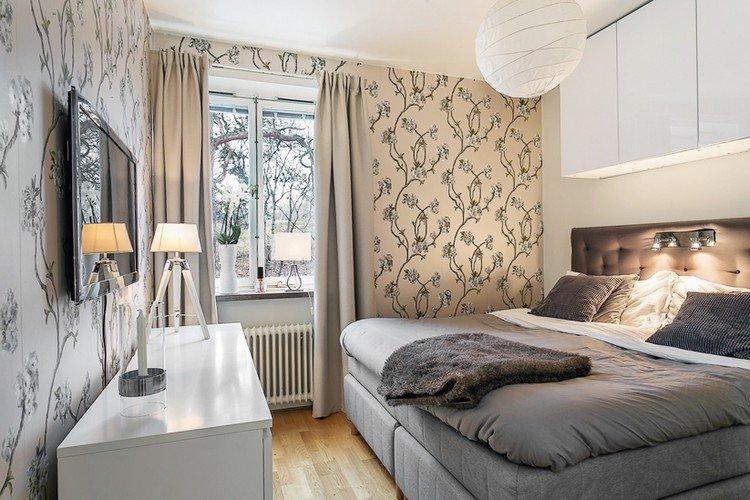 Дизайн-интерьер спальни в современном стиле