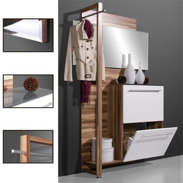 Функциональная мебель для узкой прихожей фото