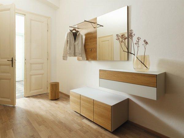 Элегантная мебель для прихожей в квартире фото