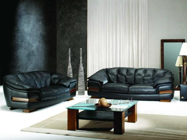 Журнальный столик в классическом дизайне гостиной