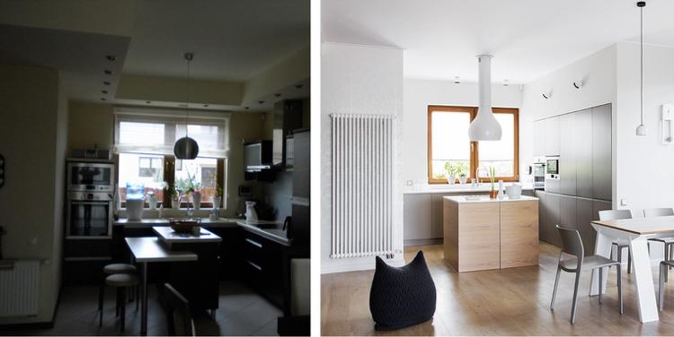 идеи для ремонта квартиры белая кухня в современном стиле фото