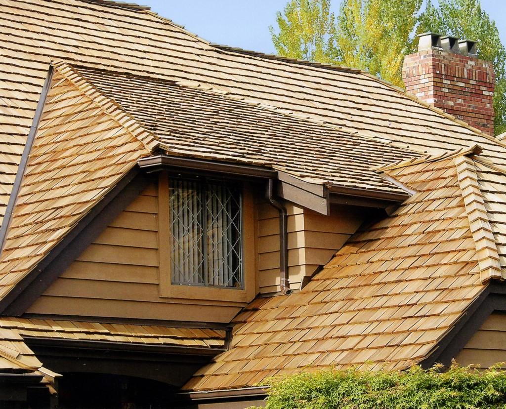 крыша из дранки фото