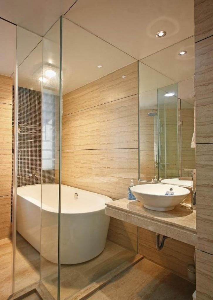 песочная плитка для ванной комнаты