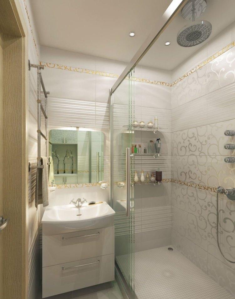 серая плитка для ванной с узорами дизайн