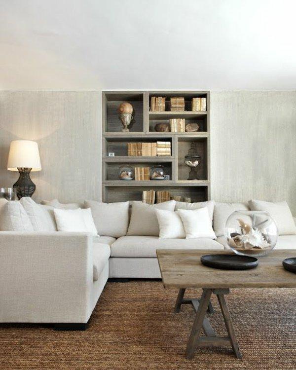 серый угловой диван фото скандинавский стиль