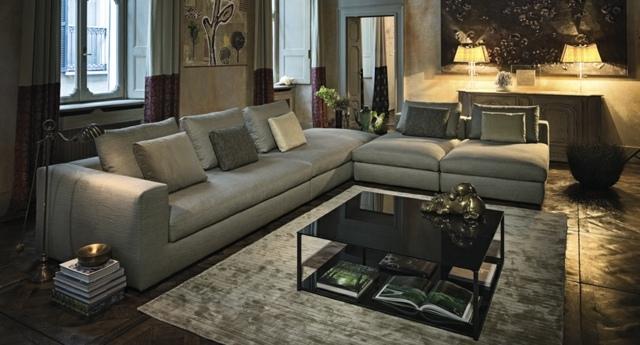 варианты угловых диванов фото серый металл