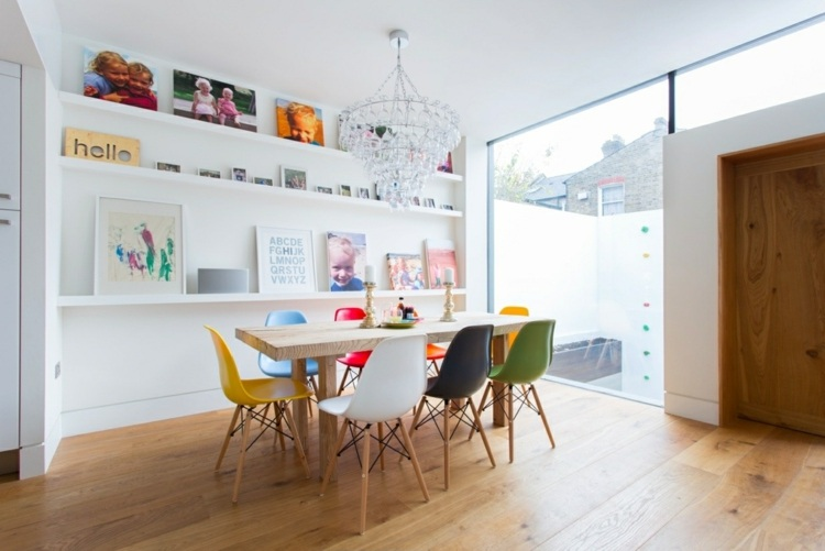 дизайн интерьер обеденной зоны фото современный стиль
