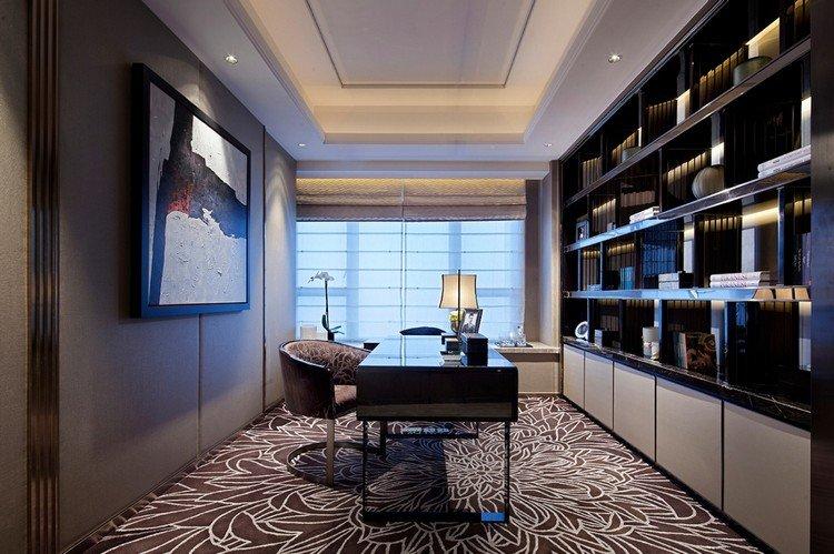 интерьер кабинета фото рабочая комната дизайн стильный