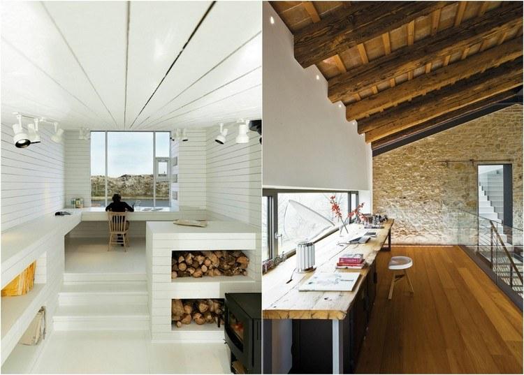 кабинет фото дизайн рабочего места дома