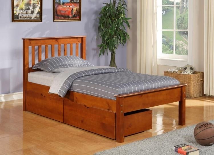 кровать односпальная с ящиками фото идеи для маленькой спальни