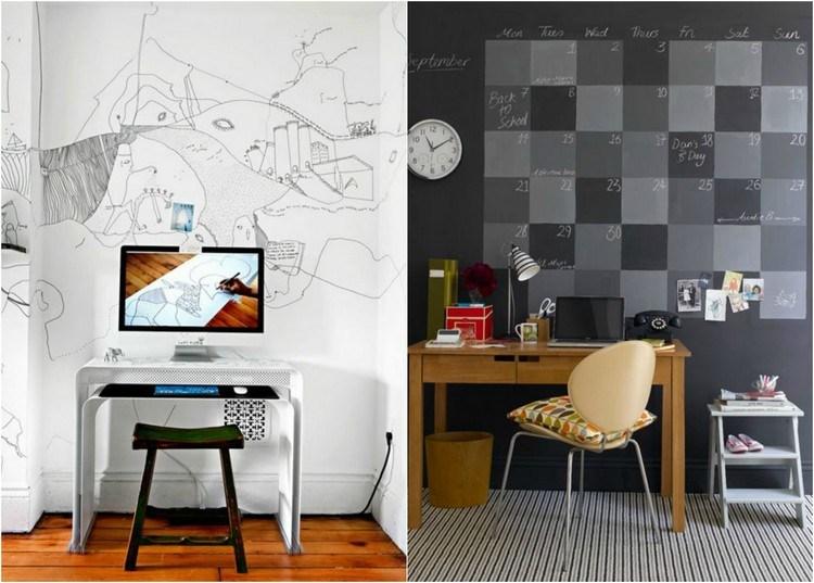 личный кабинет в квартире фото интерьер дизайн