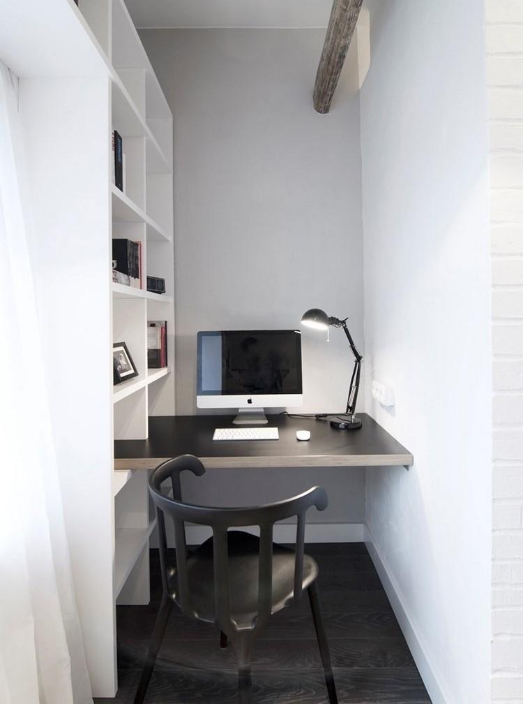 маленький кабинет фото интерьер рабочая комната