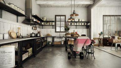 силь стимпанк интерьер фото кухня как сделать дизайн