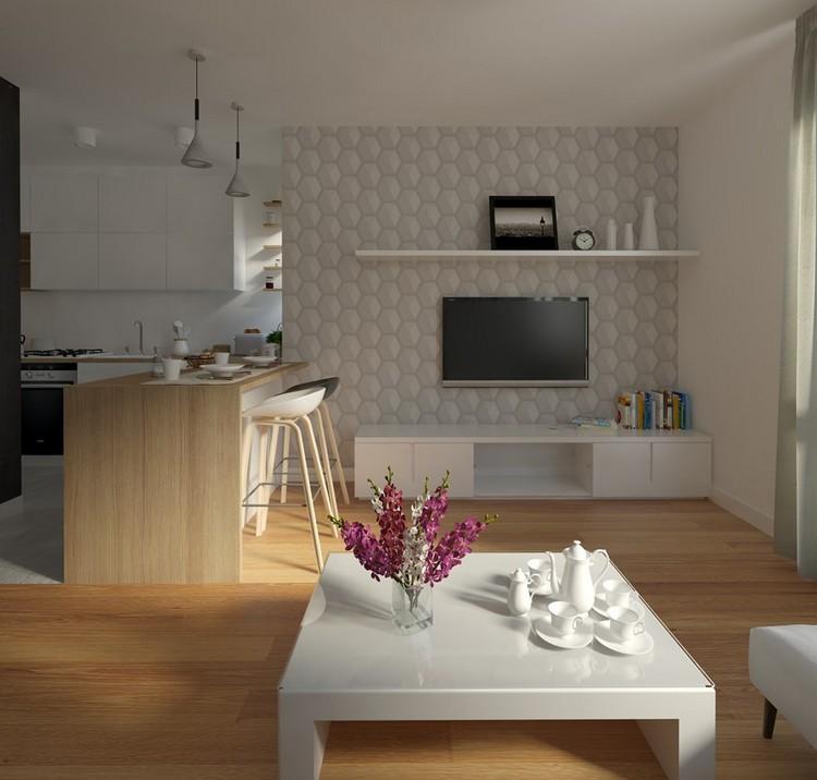 барные стулья для кухни фото квартира студия