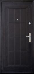 черная металлическая дверь в квартиру фото