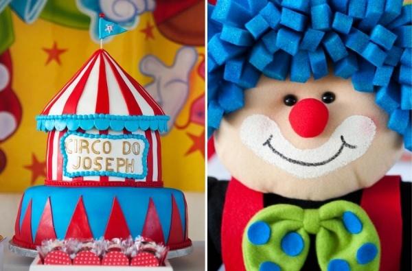 декор оформление детского праздника фото в стиле цирк клоун украшения идеи