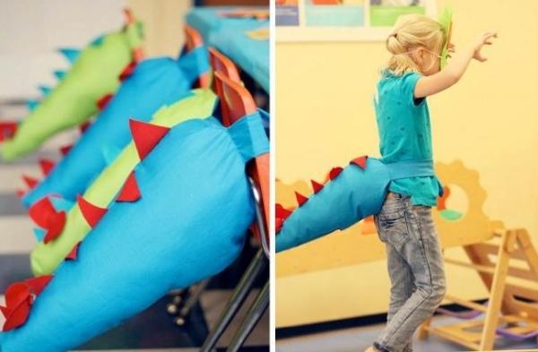 декор оформление детского праздника фото в стиле динозавры костюмы идеи