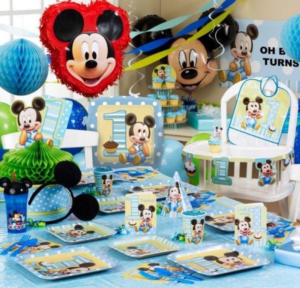 декор оформление детского праздника фото в стиле  микки маус украшения