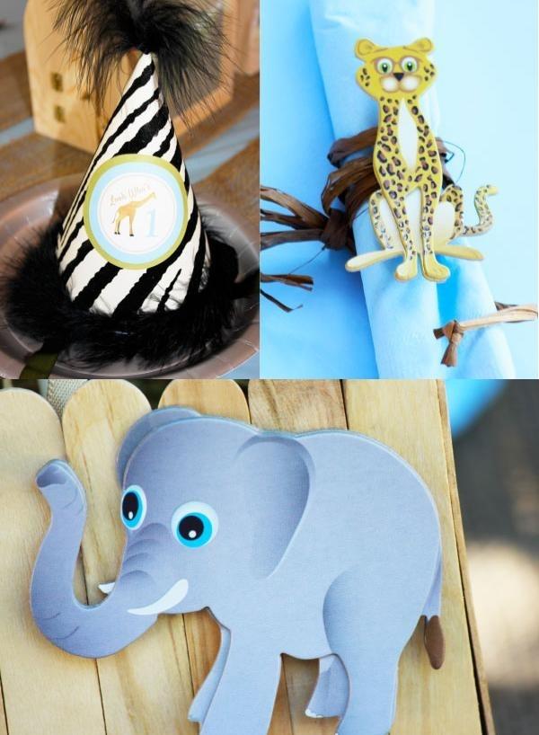 декор оформление детского праздника фото в стиле зоопарк своими руками