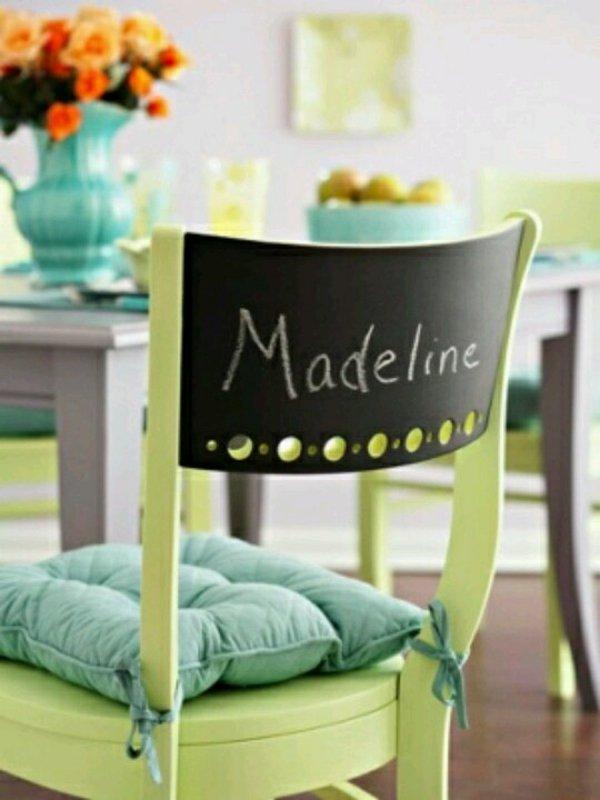 деревянные зеленые стулья для кухни фото с подписью