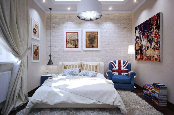 дизайн освещения спальни фото интерьер