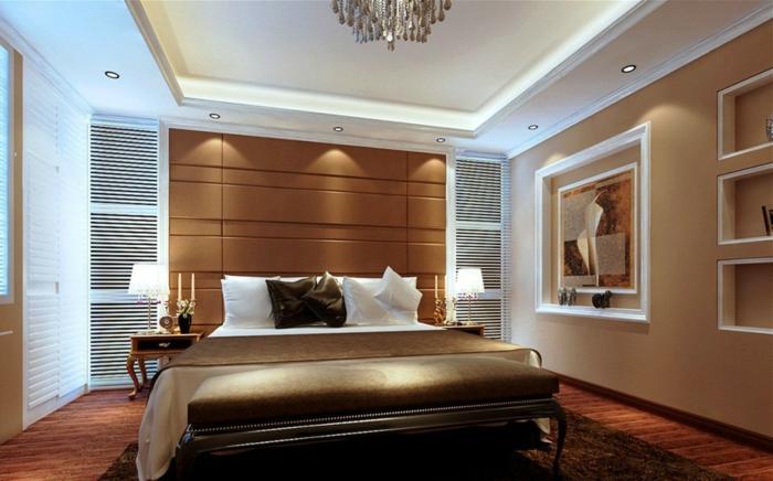 дизайн освещения в спальне фото в интерьере