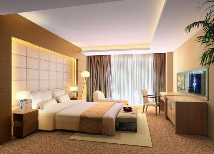 идея дизайна освещения спальни фото в интерьере
