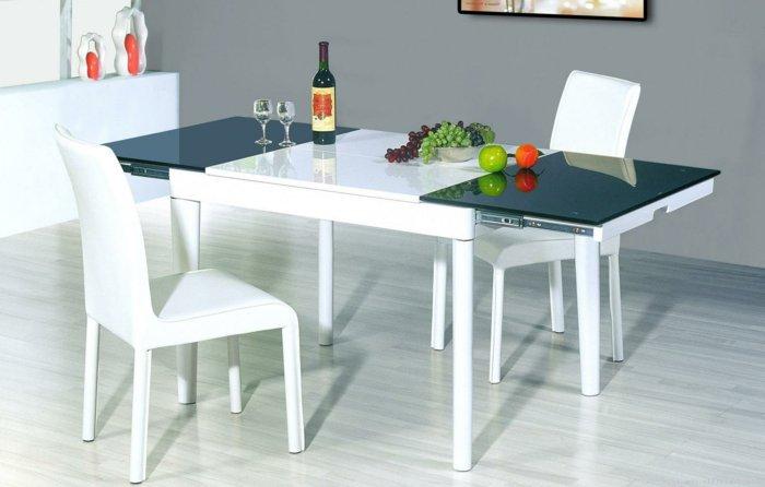 кожаные белые стулья обеденные для кухни фото