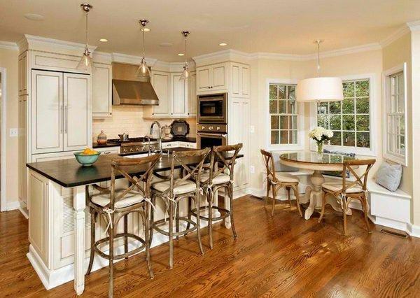 кухонные стулья фото барные деревянные
